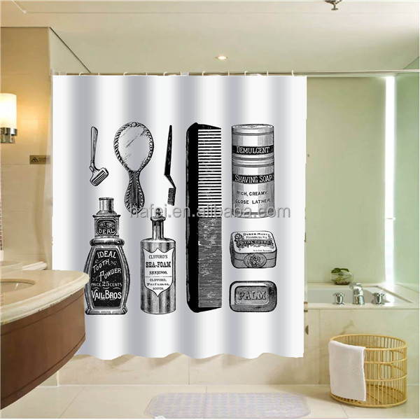 western metal chain link shower curtains