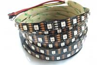 IP65 5m APA102 60LEDs/m White/Black PCB Smart led pixel 5v led jewelry display lighting