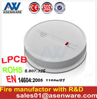 LPCB House Alarm Independent Photoelectric Smoke Detector