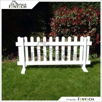 Exceptional Uv Proof Pvc No Dig Fence , Garden Fence