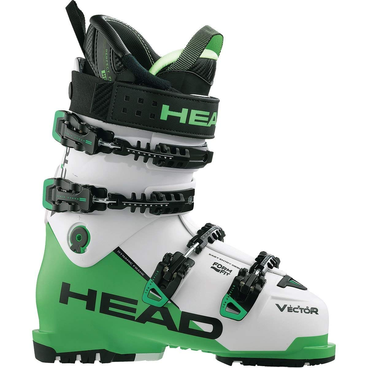 10a1d1bd12 Get Quotations · Head Skis USA Vector Evo 120 Ski Boot - Men s Black  Anthracite-Green