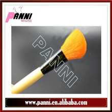 Fashionable wood handle individual personalized makeup brush set
