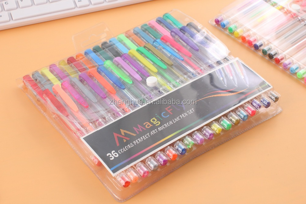 Personalize colored ink pen,gel colored pens