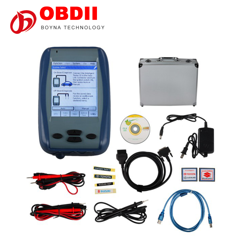 For Toyota Intelligent Tester engineering mechanics dynamics Denso IT2 V2017.01 for Suzuki Car Diagnostic tool with Oscilloscope