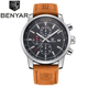 BENYAR 5102 Fashion Chronograph Sport Mens Watches Top Brand Luxury Quartz Watch Reloj Hombre Clock Male hour relogio Masculino