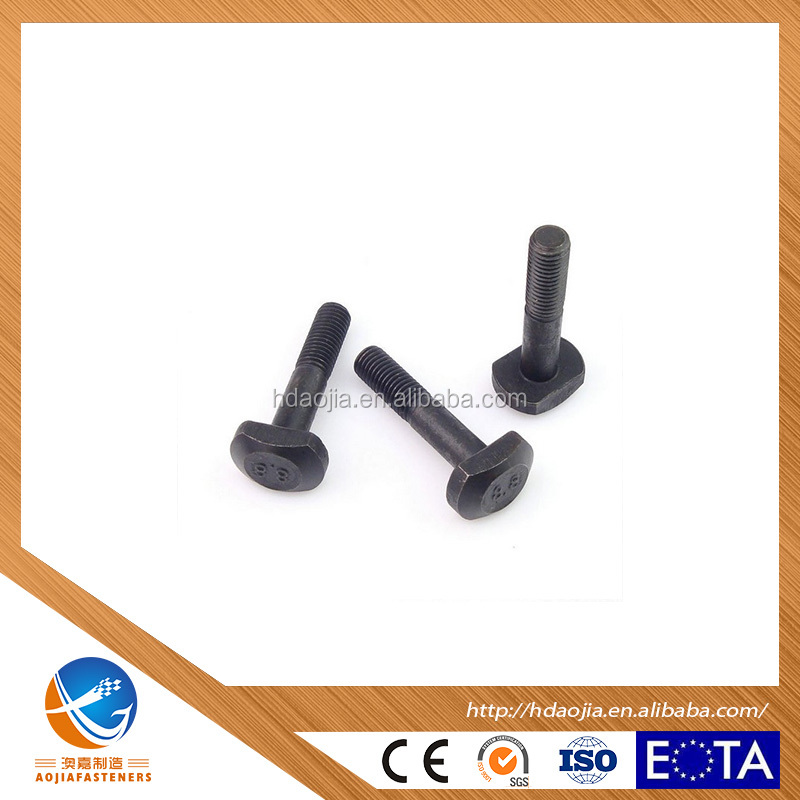 HANDAN AOJIA FACTORY SUPPLY ALL TYPES OF BOLTS,HEX BOLTS,WZP,YZP