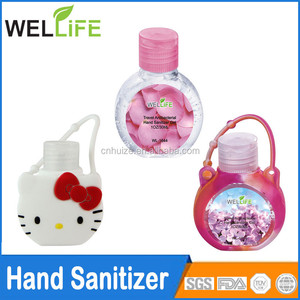 wholesale price Best selling alcohol pocketbac hand sanitizer with hanger