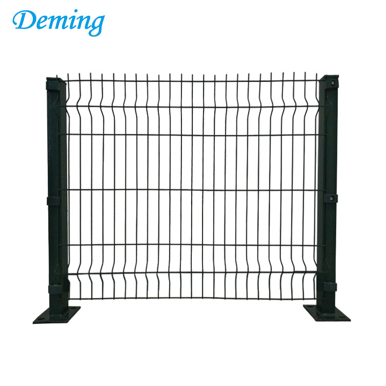 Factory Supply 6*6 PVC Coated Euro Welded Wire Fence