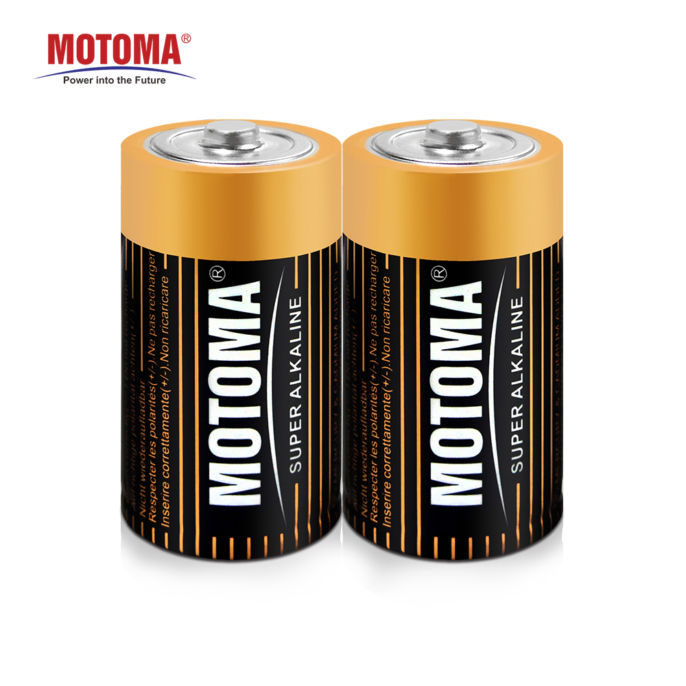 blister packing shrink packing MOTOMA R20 AM1 D battery 1.5V super alkaline battery for audio appliances
