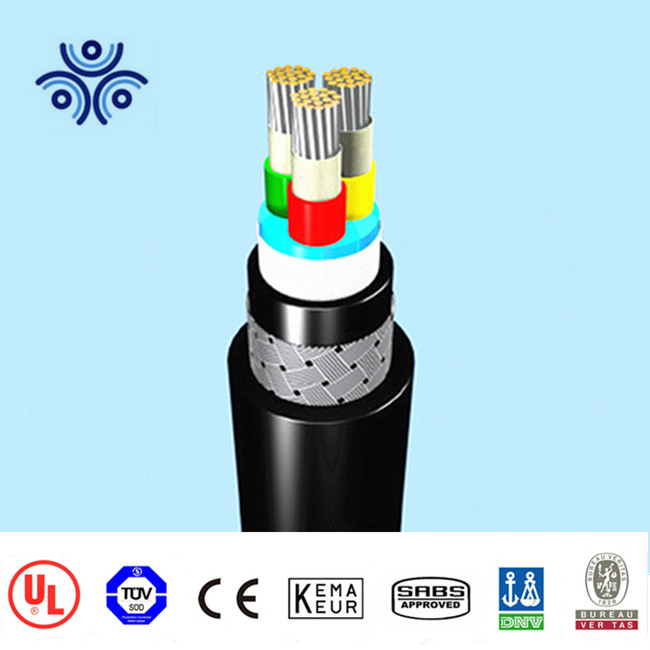 15kV 19/33 (36)KV Submarine power cable MV 2 3 core EPR insulated cables with PE sheath and armour