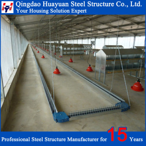 Q235 C channel Pre-engineered steel structure poultry house