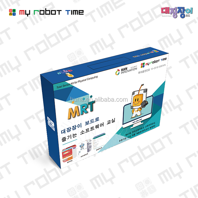 New programable robot kit blacksmith with different sensors use scratch software