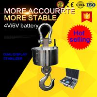 Industrial scale heavy duty digital hanging scale 300 kg