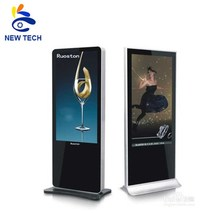 42 inch draagbare multi touch screen kiosk met usb+vga+hdmi+av+<span class=keywords><strong>tv</strong></span> interface