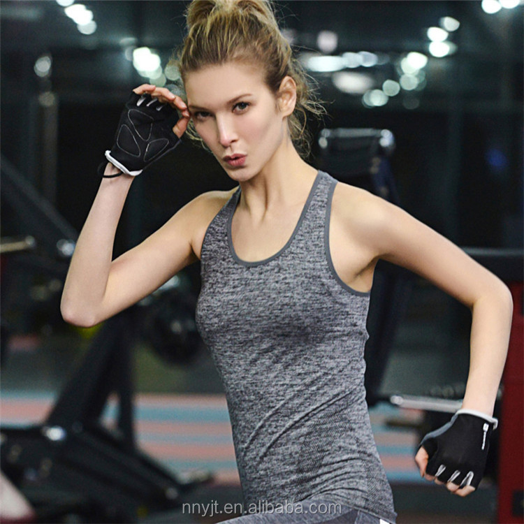 Summer Cool Dri Fit Clothes Women Ladies Sports Wear Sleeveless Top