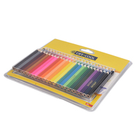Professional Chinese Supplier 48 pencil set of Colored Pencils/48 Colors Watercolor Pencil Set with PVC box