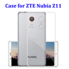 Ultra Thin Transparent Phone Case for ZTE Nubia Z11, for ZTE Nubia Z11 MAX Case