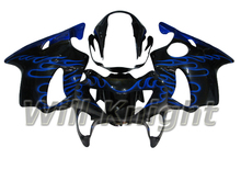 Blue Flame ABS Fairing Set for HONDA CBR600 F4 1999 2000 Motorcycle Injection Body Fairings Panel