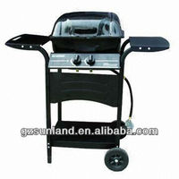 Gas Grill Deluxe/Gas Barbecue Big Size/Gas BBQ Grills Trolley, Gas Grills Reviews, Ducane Gas Grill