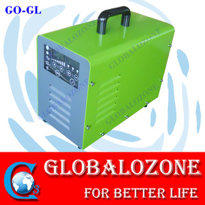 Portable LCD control ozone washing machine for fruits and vegetables