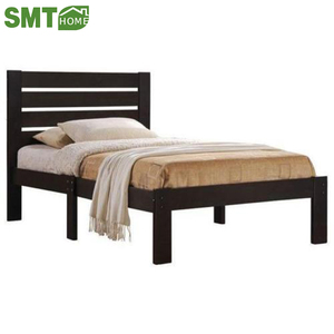 new model design modern pine wood single cot bed size