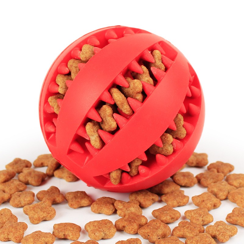 New Rubber Treat Tooth Cleaner Dog Limpeza Mastigar Brinquedos Indestrutível Pet Toy