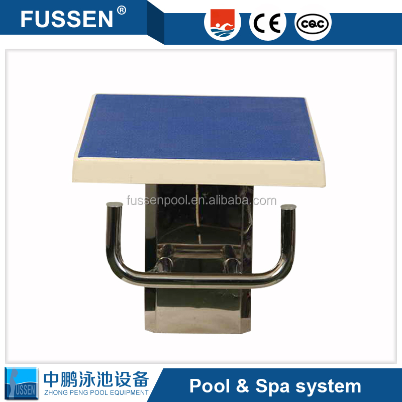 Factory supply standard swimming pool racing equipment and swimming starting block platform