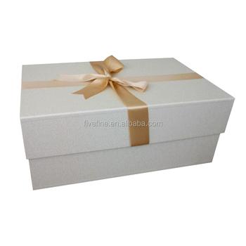 Professional Custom Printed Large Cardboard Paper Wedding Dress Box