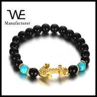 2016 High Quality Turquoise Alloy Anchor Bracelet Womens Jewelry