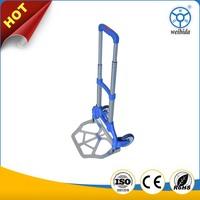 Guangzhou supplier car garage warehouse 50kg capacity mini hand foldable trolley