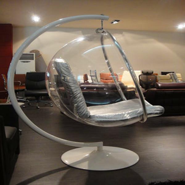 plexiglas acryl schaukel hngesessel wohnzimmer sessel produkt id wohnzimmer - Designer Hangesessel Satala Fuss