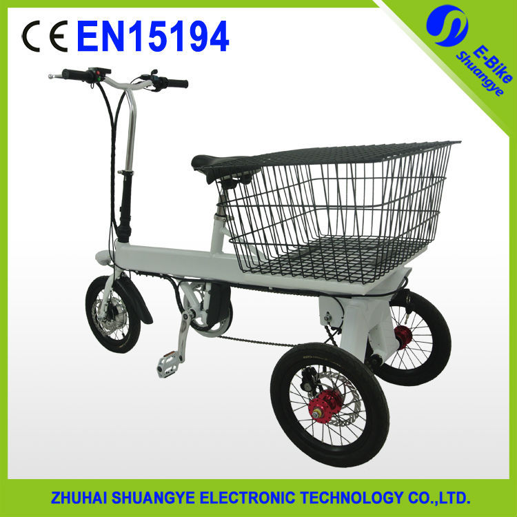 Hot sale three wheel aluminum alloy 36V electric motor bike