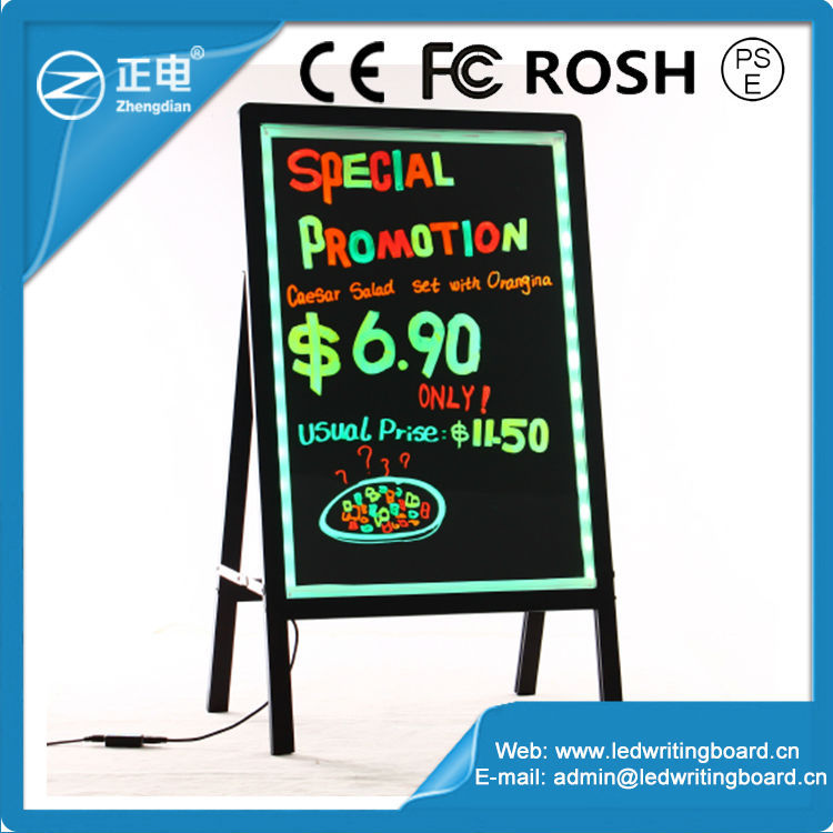 Top Selling Products In Alibaba Aluminum Alloy Frame Led Hotel Design Sign Board