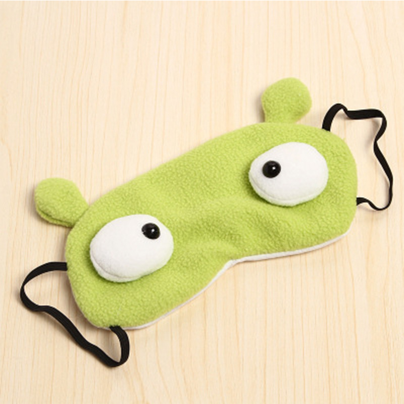 wholesale cheap Soft sleep Cover Blindfold kids funny cute cloth eye mask