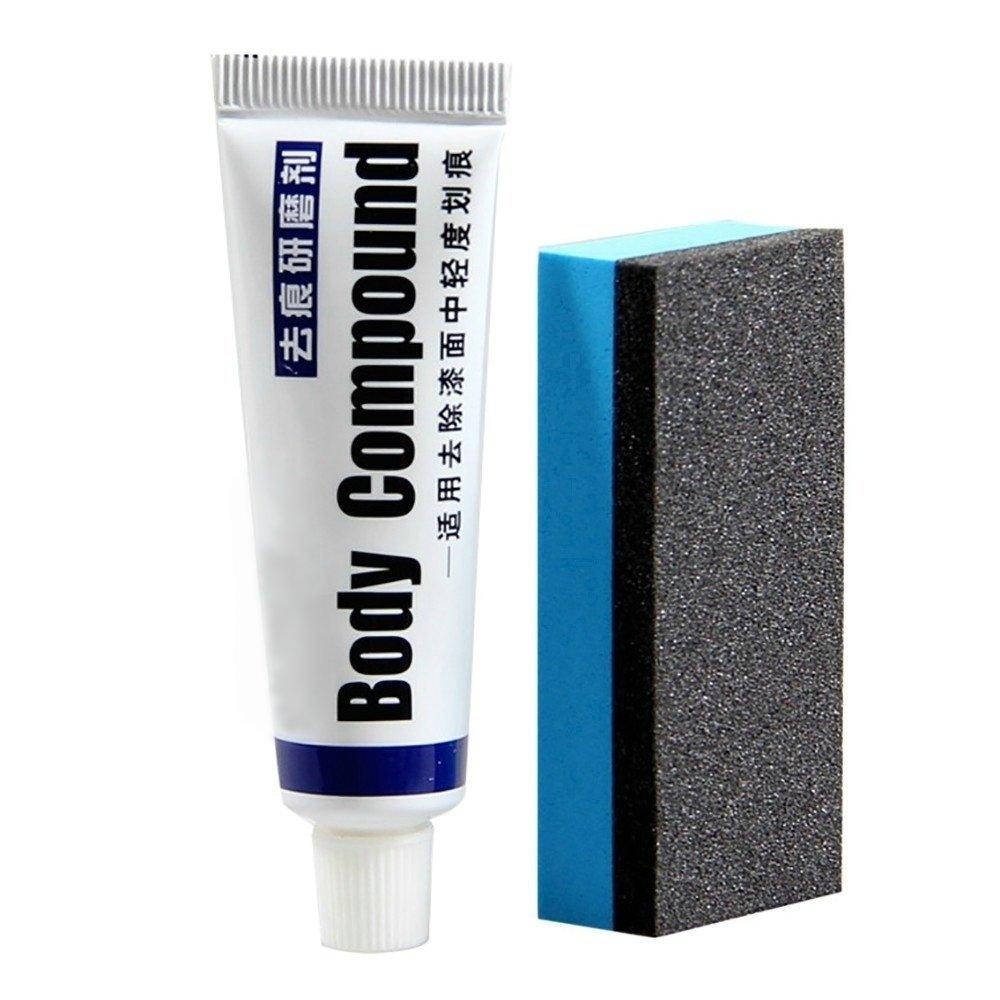 Car Body Compound Paste Set Scratch Paint Remover Auto Polishing Grinding Compound Car Paste Polish Care Tool