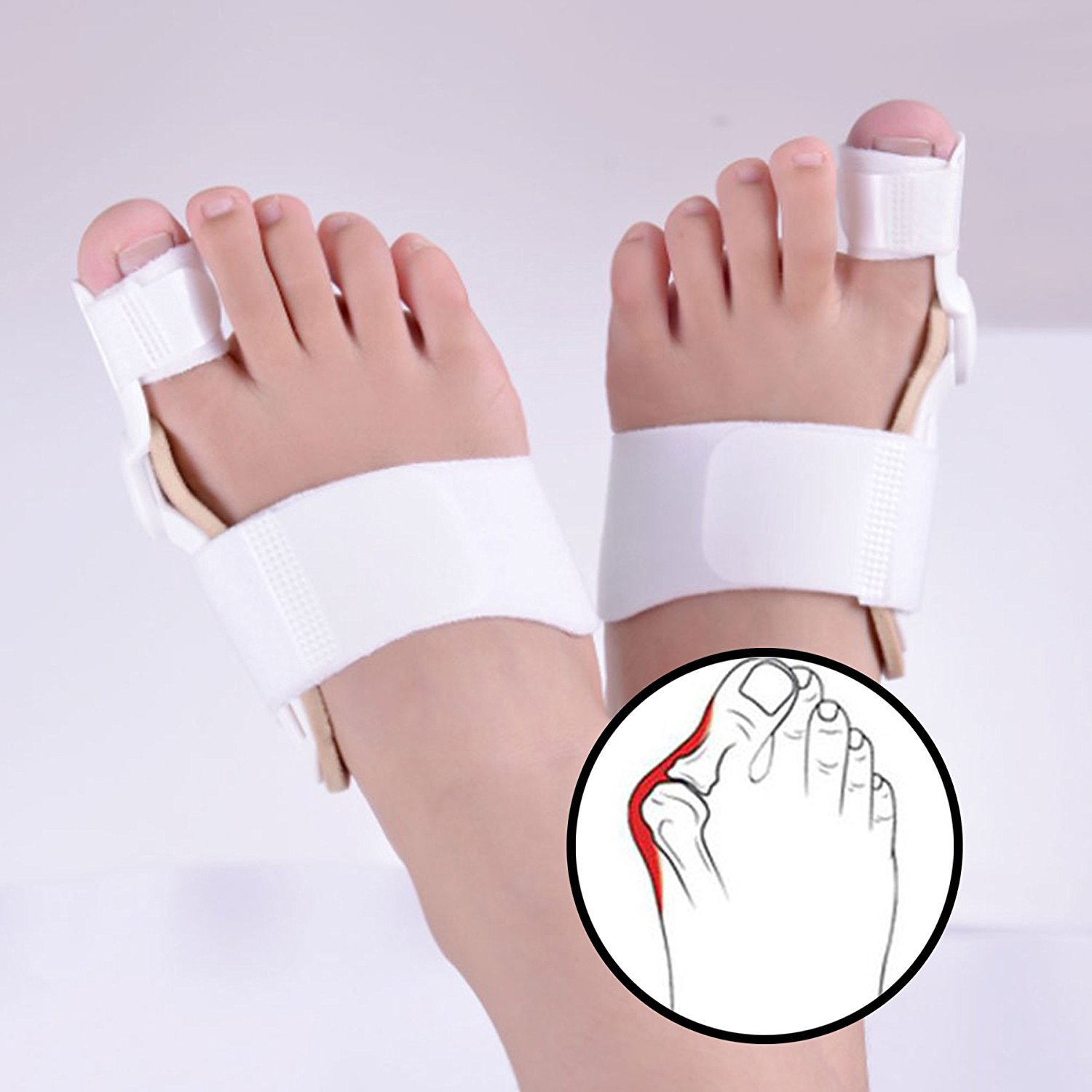Cheap Finger Bunion Find Deals On Line At Alibabacom Hallux Valgus Correction 1pair Silicone Foot Fingers Toe Separator Thumb Protect Get Quotations 2pcs Splint Corrector Relief Pads For Men And