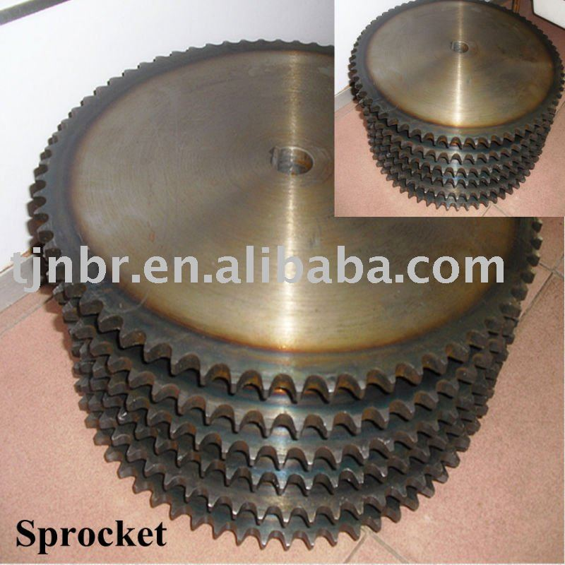 China cheap industrial roller chain sprocket wheel