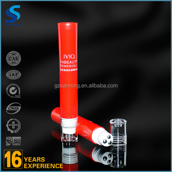 wholesale manufacturer three roller cream tube packaging empty ointment tube