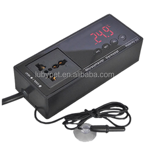AC-112 Big Digital LCD Screen Aquarium and Reptile Temperature controller, with probe and socket plug thermostat