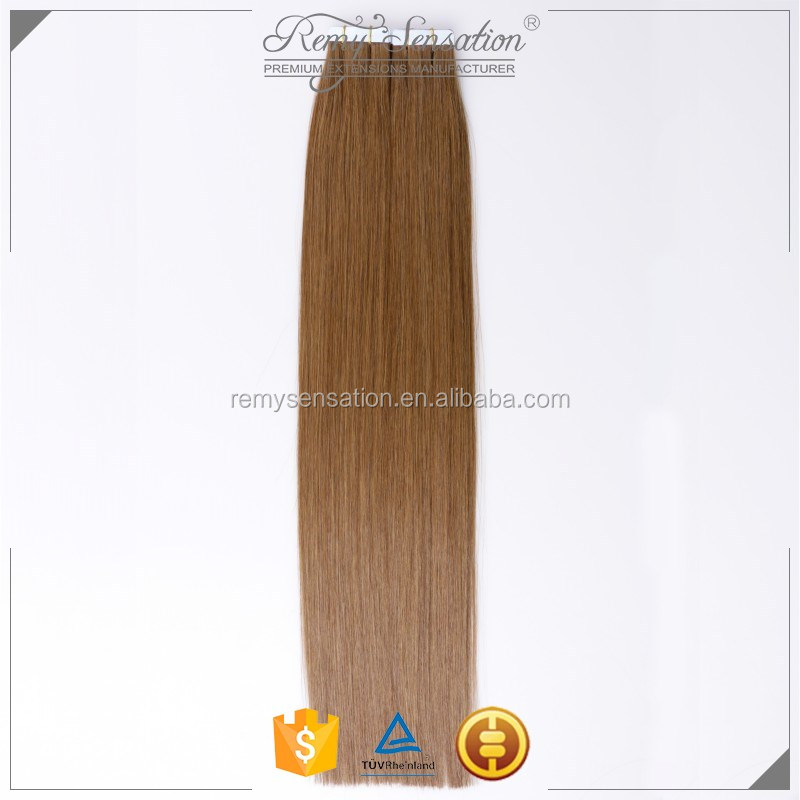 Tape In Skin Soft 100% Real Human Hair Extensions Seamless Wholesale 14-24""
