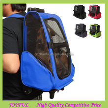 Hotting Pet Rolling Pet Carrier 4 in 1 Multi Use Wheeled Dog Pet Carrier Backpack