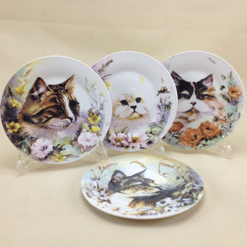cat design ceramic porcelain dinner plate - buy cat design ceramic