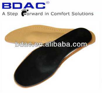 full length Latex leather insole