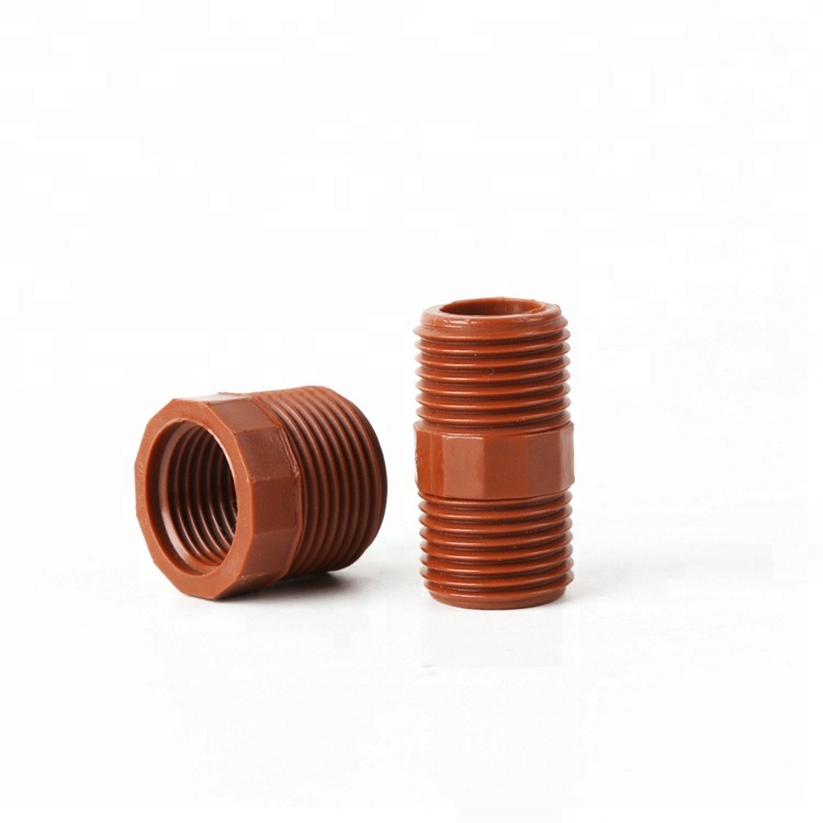 Threaded PVC coupling for plumbing/durable plumbing pvc nipple <strong>fittings</strong>