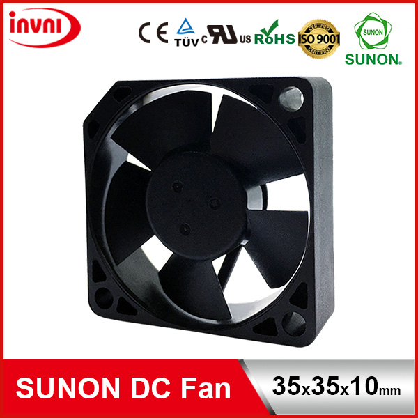 SUNON Maglev 12V DC Mini Brushless Axial Flow Laptop Internal Cooling Fan 35*35*10 35x35x10 mm 35x35x10mm (MF35101V1-10000-A99)