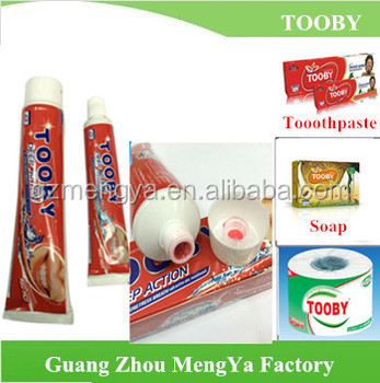 Tooby Toothpaste Free Sample Good Quality Glister Toothpaste - Buy ...
