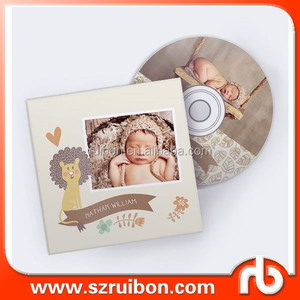 Personalized CD DVD label,Custom adhesive Baby CD DVD label