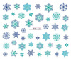 2016 New Design Happy Merry Snow Flower Designs Christmas Beauty Nail Art Sticker Packing