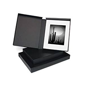 Print File Shoe Box Archival Print Storage Box Holds Approximately 1000 4x6 Prints Black Exterior.
