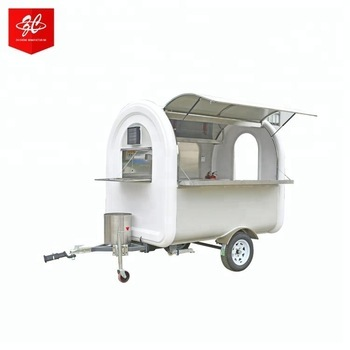 Outdoor food small trailer for sale,mobile food carts for hot dog with CE/ISO